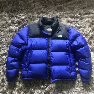 The North Face puff jacket